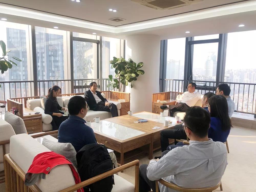 广州人力资源服务协会领导来访,与我司领导就行业发展进行深入交流